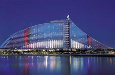 Jumeriah Beach Hotel in Dubai Dubai Hotel, Jumeirah Beach Hotel Dubai, Dubai Uae, Beach Hotels, Dubai Beach, Palm Jumeirah, Burj Al Arab, Best Resorts, Hotels And Resorts