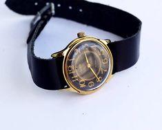 Vintage womens wrist watch Luch  Russian mechanical watch