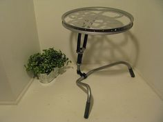 End table from bike parts by gilbertvh