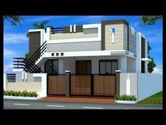 Small One Floor House Plans - Small One Floor House Plans , Floor Best Single Floor House Elevation House Front Wall Design, Single Floor House Design, Village House Design, Small House Design, One Floor House Plans, Small House Plans, Floor Plans, Front Elevation Designs, House Elevation