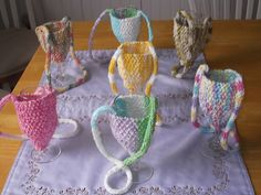 Ravelry: Wine Glass Holder pattern by Claudia Olson