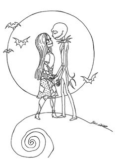 Top 25 'Nightmare Before Christmas' Coloring Pages for Your Little Ones
