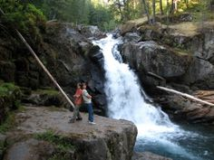 Visit Rainier Silver Falls