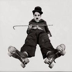 Fotografia do filme The Rink (1916)