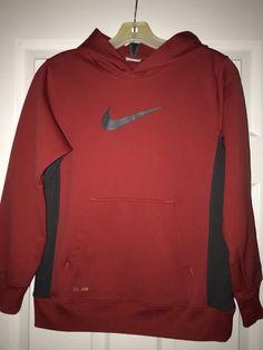 ded1f1ea5a028a Boys Size 10 12 Medium Nike Therma-fit Hoodie  fashion  clothing