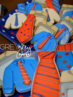 TV News Inspired cookies Man Cookies, Iced Cookies, Cut Out Cookies, Cute Cookies, Easter Cookies, Holiday Cookies, Cupcake Cookies, Cookies Et Biscuits, Soft Frosted Sugar Cookies