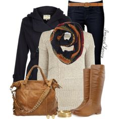 """Winter in Boots"" by immacherry on Polyvore"