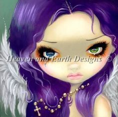 Faces of Faery 162 by Jasmine Becket-Griffith