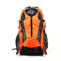 0e9f6f46d5c6 Waterproof Fabric Nylon Sports Laptop Mountaineering Bag Orange - Click  image twice for more info -. Backpack For ...