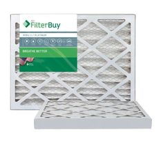AFB Platinum Merv 13 16x36x2 Pleated AC Furnace Air Filter. Filters. 100% produced in the USA. (Pack of 2)