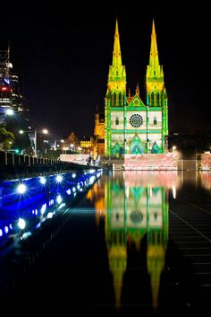 Getting excited for Vivid Sydney 2013 | St Mary's Cathedral Vivid 2012