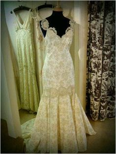 Claire Pettibone 'Provence' wedding gown photographed at Exquisite Bridal Couture, Hampshire, UK