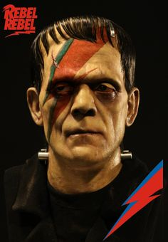 Bowie Forever: Frankenstein by Poster Graphix