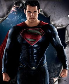 Henry Cavill as Superman - Man of Steel Kellogs Cereal Promo Image by Henry Cavill Fanpage, via Flickr