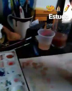 De ontem  Aquarela🎨  #drawings #draw #drawing #colors #color #aquarela #paint #painting #desenho #ilustracao #ilustration #studying #study ##rodrigosancho #dibujo #vikings #floki #sketchbook #sketch #arte #artist #art #pencil #watercolor