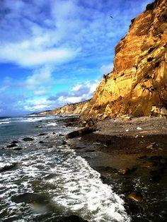Blacks Beach . La Jolla , San Diego .  California .