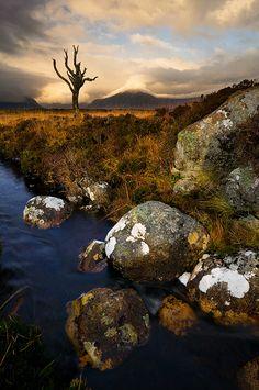 Rannoch Moor, Glencoe, Scotland