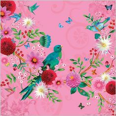 Latest No Cost Pink Flowers ilustrations Tips If you are seeking flowers with a lovely hue and lively feeling, try various pink flowers. Illustrations, Illustration Art, Fabric Patterns, Print Patterns, Upcycle Home, Flower Bird, Bird Feathers, Decoupage, Folklore
