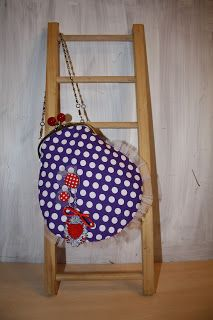 Pequeñas creaciones / Petites Créations: Patron de Bolso con boquilla / Patron de sac de fermeture metal