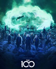 The 100 Tv Series, The 100 Serie, The 100 Show, The 100 Cast, The 100 Poster, The 100 Characters, Die 100, Film Poster Design, The 100 Clexa