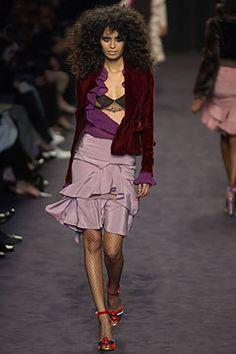 Saint Laurent Fall 2003 Ready-to-Wear Fashion Show - Ujjwala Raut, Tom Ford