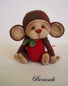 couldn't find a pattern but could probably devise something that would be along these lines. Very cute.