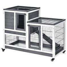 Indoor Rabbit House, Rabbit Hutch Indoor, Indoor Rabbit Cage, Rabbit Hutch Plans, House Rabbit, Rabbit Hutches, Rabbit Hutch And Run, Bunny Hutch, Rabbit Life