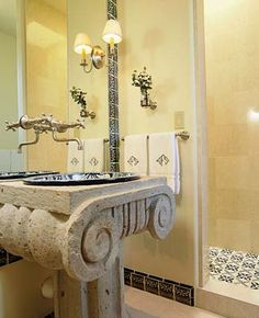 Beautiful Roman Style Bathroom Designs 3