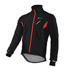 RockBros Winter Cycling Fleece Thermal Windproof Jacket Outdoor Sport Coat Casual Riding Long Sleeve Jersey for Men Black $46.99 - $48.99