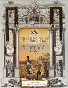 A Master Mason must know how to divide his time