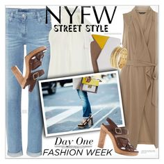 """NYFW~Day One"" by suzanne228 ❤ liked on Polyvore featuring mel, AG Adriano Goldschmied, Furla, Nanette Lepore and NYFW"