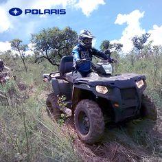 Busca aventuras, nada te detendrá mientras conduzcas tu #Sportsman #GoPolaris