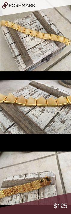 💎Eddie Borgo Bracelet Gem stone pyramid stones with gold hardware.  No trades. ❤️Love the item but not the price? Make an offer!  Happy Shopping. 🛍 Eddie Borgo Jewelry Bracelets