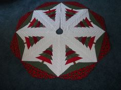 55 Handmade Quilted Christmas Tree Skirt By Krissyde On Etsy