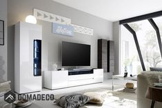 Living room unit / modern entertainment center / modern tv wall unit at t. Living Room Units Modern, Modern Tv Wall Units, Living Room Wall Units, Small Living Rooms, Modern Wall, Home Living Room, Living Room Designs, Modern Entertainment Center, Entertainment Center Furniture