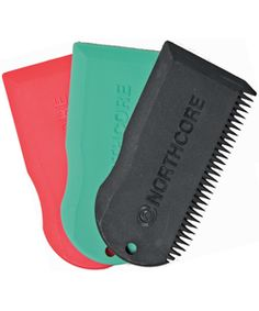 Northcore wax combs- durable, colourful and practical