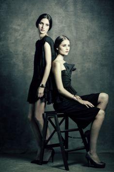 Eva and Olga by EmilySoto.deviantart.com on @DeviantArt
