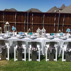 Garden setting Event Planning, Wedding Events, Dining Table, Garden, Home Decor, Garten, Decoration Home, Room Decor, Dinner Table