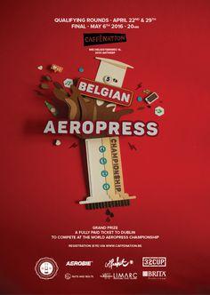 Belgium Aeropress Champs 2016