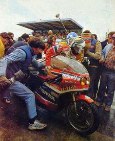 Relaisfontan/moineaule mans 1980
