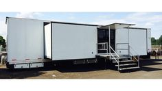 Single Expandable Trailer turned pop up store is for sale.