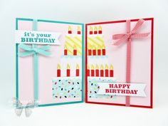 Poppin' Birthday March 2019 Paper Pumpkin Alternates - Stamp Your Art Out! use inside card It's Your Birthday, Birthday Cards, Diy And Crafts, Paper Crafts, Stampin Up Paper Pumpkin, Online Paper, Pumpkin Cards, Fun Fold Cards, Shaker Cards