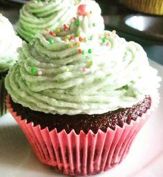 Vegan Chocolate Cupcakes with Pistachio Cream