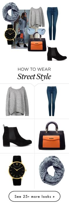 """""""street style"""" by agostina-f on Polyvore featuring NYDJ, Pure Collection, Oliver Peoples and Larsson & Jennings"""