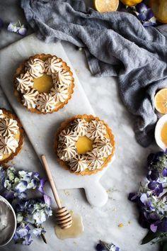 Coconut Lemon Meringue Tarts (Paleo, GF) - The Kitchen McCabe