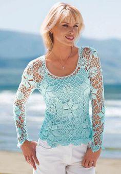 Yeni Moda Çok Şık bayan Örgü bluz yapımı videolu dizaynları