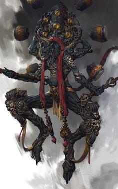Ancient being Mystique fantasy creature