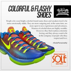 22547d6db290 The kicks you wear has a lot to say about your personality. Do you wear