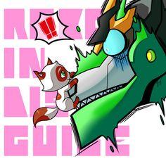 RID: Grimlock x Kitty by Evelynism.deviantart.com on @DeviantArt