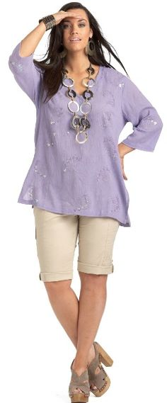 THE TROPICS SEQUIN KAFTAN - Tops - My Size, Plus Sized Women's Fashion & Clothing
